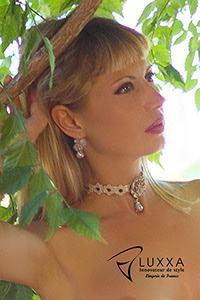 Luxxa Love Creme Necklace